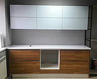 Кухня из дерева в стиле лофт на заказ