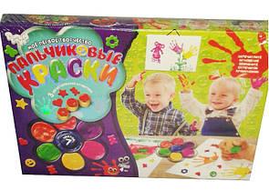 Пальчиковые краски для малышей 7 цветов Danko Toys