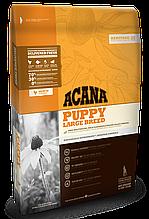 Корм Acana (Акана) Heritage Puppy Large Breed  для щенков крупных пород, 17 кг