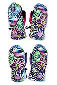 Непромокаемые перчатки-варежки для девочек Catalina оптом, 3/4-5/6 лет.