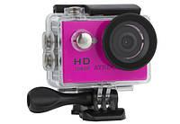 Экшн-камера ATRIX ProAction A9 Full HD (pink), фото 1