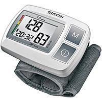 Тонометр автоматический на запястье Sanitas SBC 23 с искусственным интеллектом, индикатором аритмии, Германия