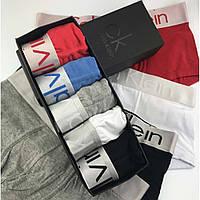 Подарочный набор мужских боксеров Calvin Klein Steel (хлопок)
