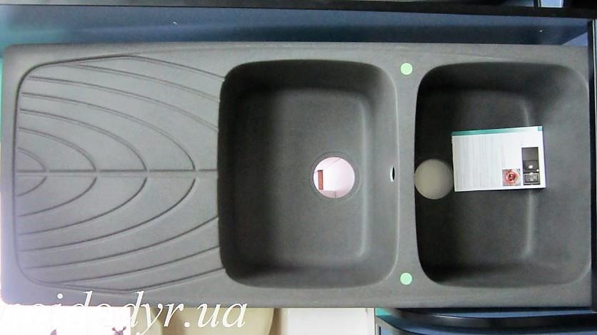 Мойка кухонная гранитная Elleci Master 500 (grigio ambra 58)