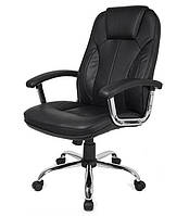 Офисное кресло компьютерное на колесиках Homekraft DELUXE