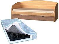 Кровать Комфорт+Матрас (1940х850х850)