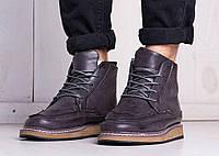 Ботинки мужские зимние (фиолетовый), фото 1
