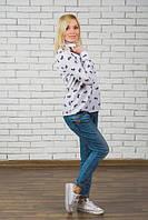 Рубашка женская с бантиками