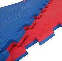 Татами (будо-маты) 1х1 26 мм (сине-красный)