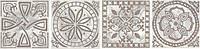 Вставка Kerama Marazzi Керамический гранит Престон AD\A185\SG1506 7,7х7,7