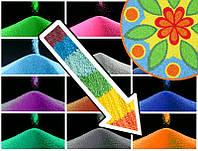 Декоративный наполнитель цветной песок Розово - Коралловый