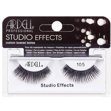 Накладные ресницы Ardell™ Studio Effects Lashes Black Ardell, 105, фото 2