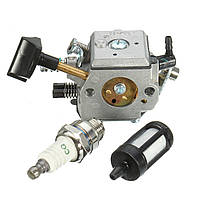 Карбюратор с топливным фильтром Spark Штекер для Stihl BR400 BR420 BR320 BR380 Воздуходувка для рюкзака