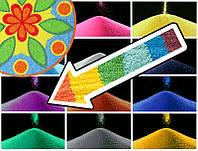 Декоративный наполнитель цветной песок Фиолетовый