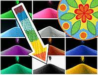 Декоративный наполнитель цветной песок Чёрный