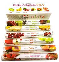 Fruits Collection (Фруктовая коллекция) (Darshan) (набор 6 пачек) шестигранники, аромапалочки