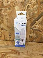 Светодиодная лампа Z-Light свеча LED C37 8W E14