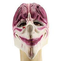 Банковский разбойник Клоун Хэллоуин Маска Страшные клоунские украшения для вечеринок