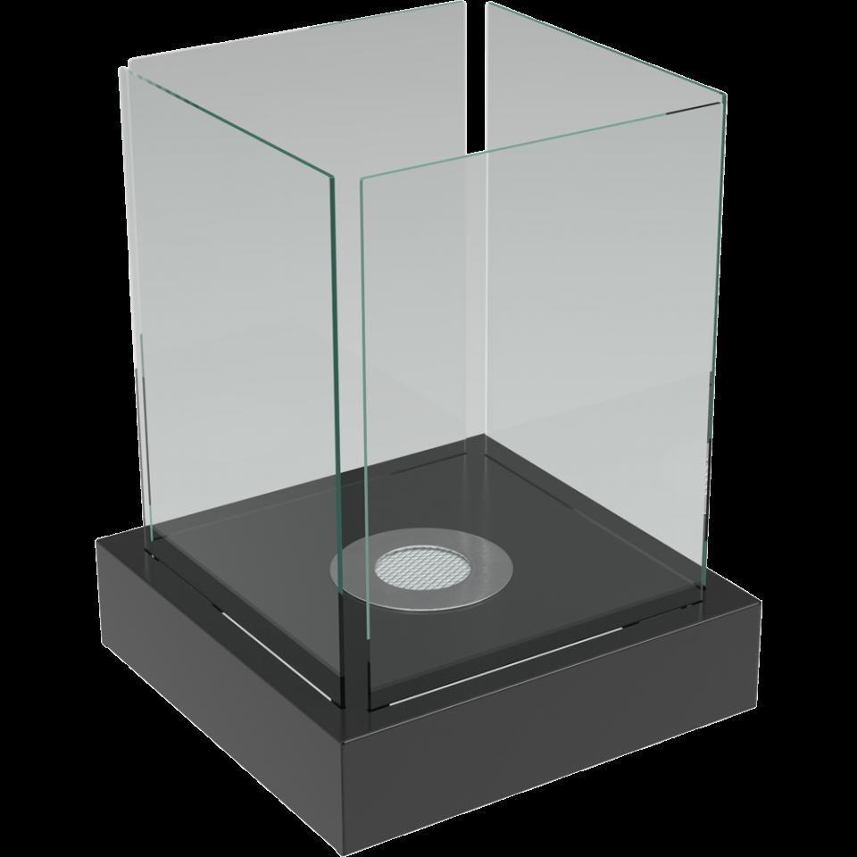 Биокамин - TANGO 4 (черный гранит белый)