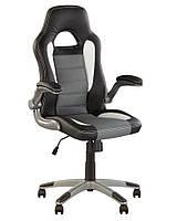 Кресло для руководителя RACER. Офисное кресло в кабинет для управляющего.
