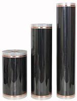 Инфракрасный пленочный теплый пол, плинтус  Heat Plus sauna 30 см х 310 Вт/м.п. под ламинат, кафель Корея
