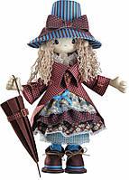 """Набор для шитья текстильных кукол  """"Мэри"""" высотой 50см, в кор.36*28*8см"""