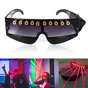 650nm Stage Red Лазер Очки Прохладный DJ Лазер Очки для Лазер Указатель 1TopShop