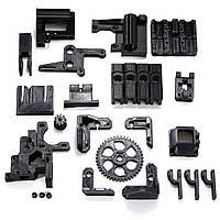 DIY ABS Материал Черный 3D Печатные части Набор Для RepRap Prusa i3