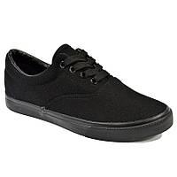 Кеды Vans низкие чёрные (DESUN) 36-40 (реплика) 4552d6bae3185