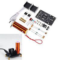 3 штук DC 15-24V 2A DIY Электронный мини-музыкальный плеер Tesla Coil Plasma Horn Speaker Набор Производит функцию духового музыкального проигрывателя