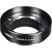 Metabones Contax G Lens to Sony E-Mount Camera T Adapter (Black) (MB_CG-E-BT1)
