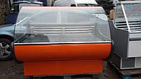 Витрина холодильная 160 см. б у.,Гастрономическая витрина б у., фото 1