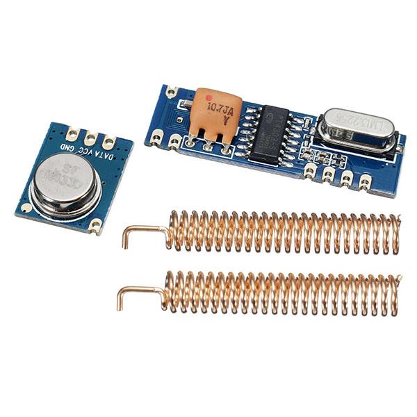 3sets 433MHz 100M Wireless Transceiver Module Набор Передатчик + Приемник + Медь Весна Антенна 1TopShop