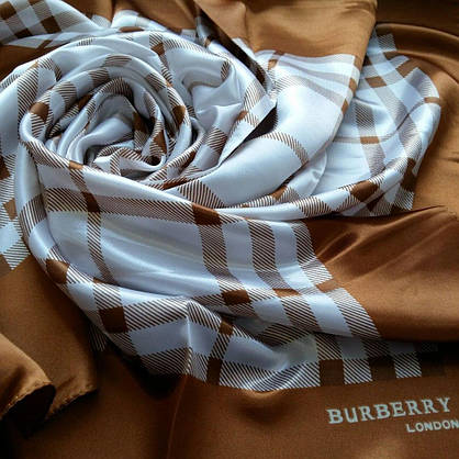 Платок Burberry шелк, фото 2