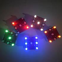 3Pcs Geekcreit® DIY Shaking Blue LED Кости Набор с малой вибрацией Мотор-1TopShop, фото 3
