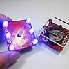 3Pcs Geekcreit® DIY Shaking Blue LED Кости Набор с малой вибрацией Мотор-1TopShop, фото 2