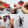 3Pcs Geekcreit® DIY Shaking Blue LED Кости Набор с малой вибрацией Мотор-1TopShop, фото 5