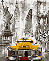 "AS 0091 ""Большие города"" Картина по номерам на холсте Art Story 40x50см"