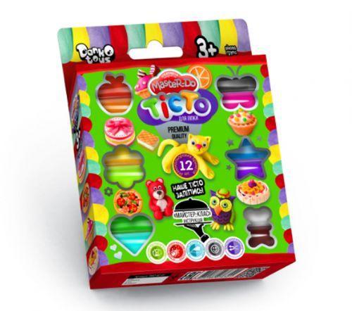 Тесто для лепки Master-Do 12 цветов Danko toys