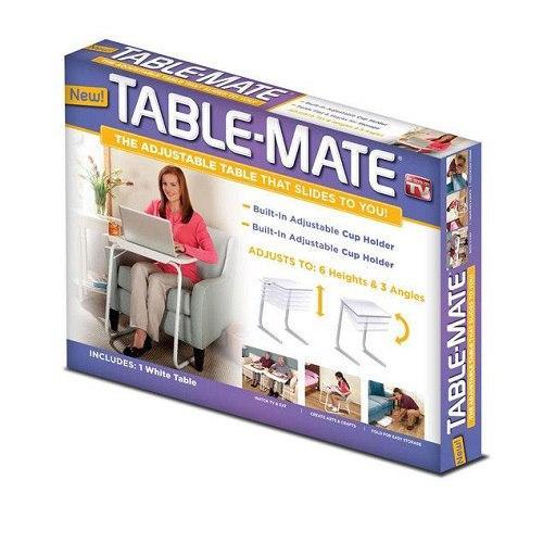 Универсальный складной столик  - Table Mate 2  для еды, ноутбука, вышивания или рисования