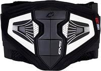 Пояс защитный EVS IMPACT черный белый S