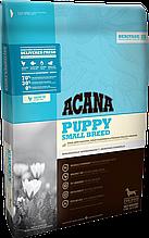 Корм ACANA (Акана) Heritage PUPPY SMALL BREED для щенков мелких пород, 2 кг