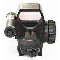 Прицел 2 в 1 COMBO лазерный и коллиматорный голографический Vector Optics (1x22x33, 5mW). Дешево. Код: КГ2667
