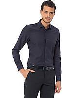Мужская рубашка черная LC Waikiki/ЛС Вайкики в мелкий горошек