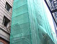 Сітка фасадна  95 г/кв.м., 3.0 х 50 м, PE, green-black