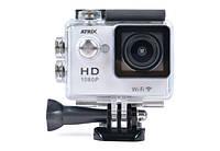 Экшн-камера ATRIX ProAction W9 Full HD (silver), фото 1
