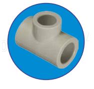 Тройник ASG-Plast 20 мм полипропиленовый однозначный