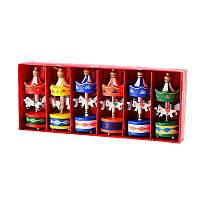 6 штук Рождественская вечеринка Домашнее украшение Trojan Кулон Игрушки для детей Детский орнамент Подарок