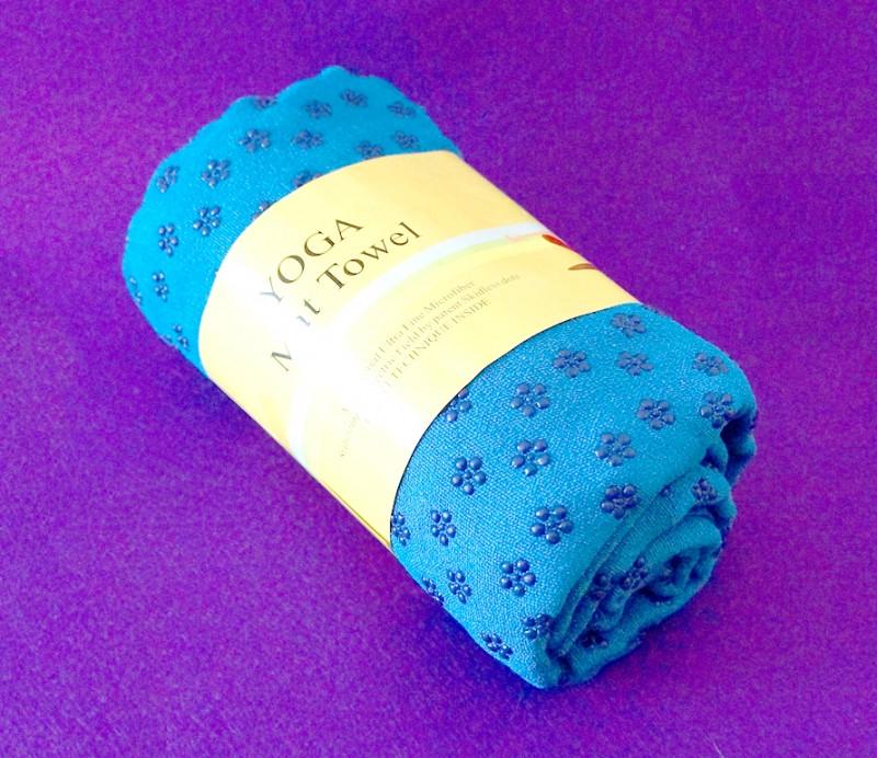 Полотенце для Йоги Синее