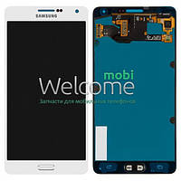 Дисплей Samsung SM-A700H Galaxy A7 white with touchscreen service orig